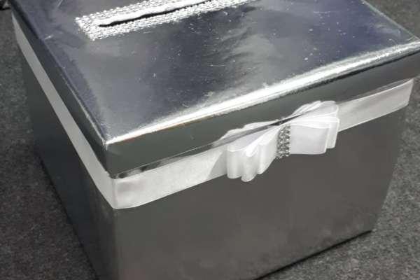 Kutija za omotnice, kuverte - svatovi, vjenčanja, događanja, jednobojne, s natpisom